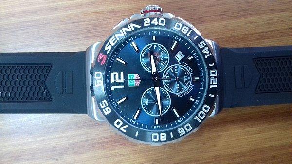 2a3d1eec4ca Relógio Tag Heuer Senna F1 - Azul - SoTouchBrasil