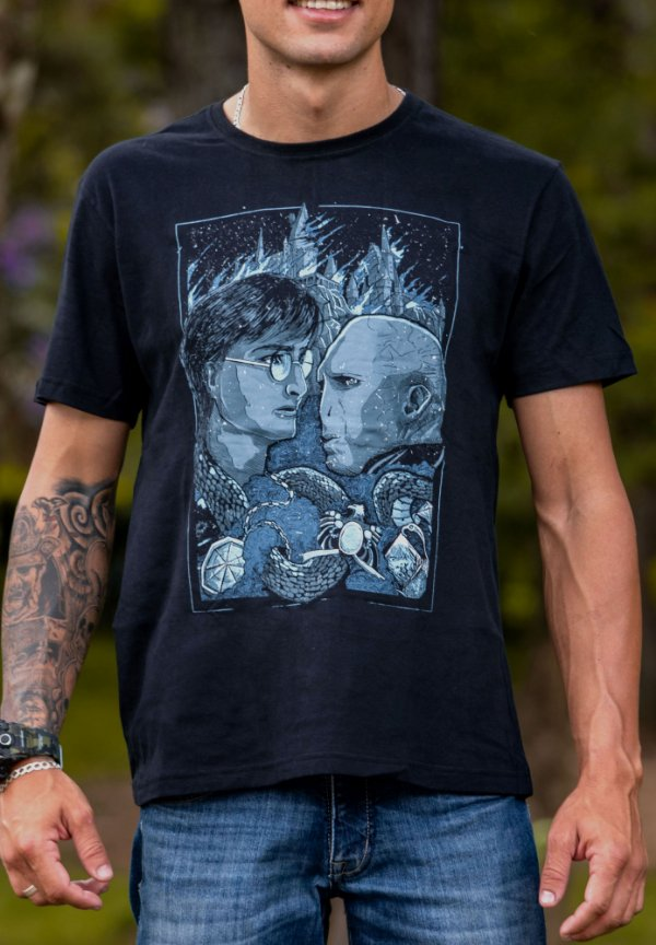 CAMISA MASCULINA HARRY POTTER