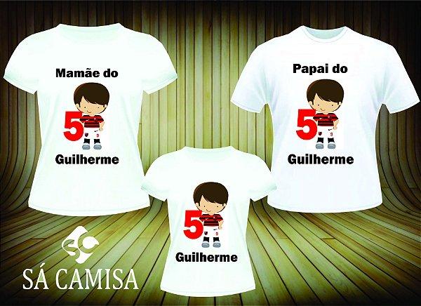 3a791e4a99 kit 3 camisas Aniversario Flamengo - Você é o nosso diferencial.