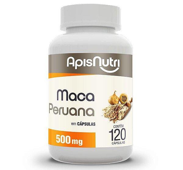 MACA PERUANA - 120C - 500MG. - APISNUTRI