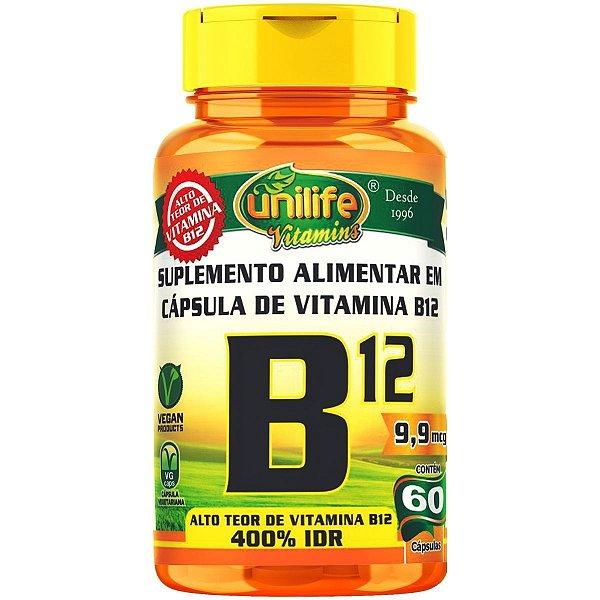 VITAMINA B12 - 60C. - 450MG - UNILIFE