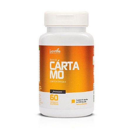 ÓLEO DE CÁRTAMO - 60 CAP/1000MG CAD - LAVITTE