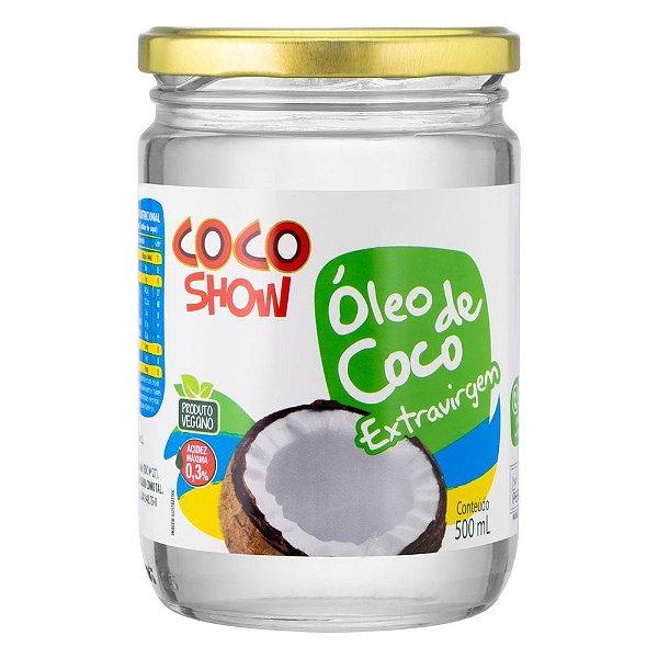 ÓLEO DE COCO EXTRA VIRGEM - 500ML - COCO SHOW