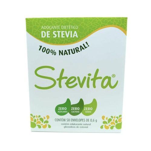 ADOÇANTE STEVIA - 50 SACHES/0,6 G - STEVITA