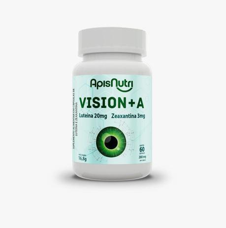 VISION + A LUTEINA ZEAX - 60CAP - 280MG - APISNUTRI
