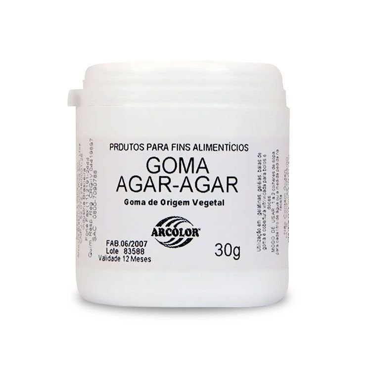 GOMA AGAR AGAR 30G - ARCOLOR