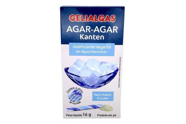 AGAR AGAR - 16G - GELIALGAS