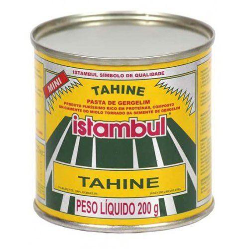 TAHINE ISTAMBUL - PASTA DE GERGELIM 200GR