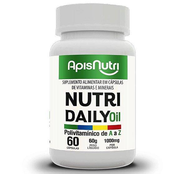 NUTRI DAILY POLIVITAMINICO ÓLEO - 60C-1000MG - APISNUTRI