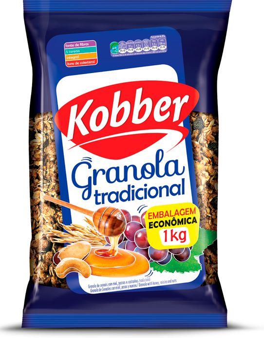 GRANOLA TRADICIONAL - 1KG - KOBBER