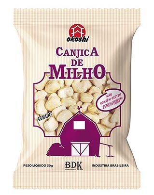 CANJICA DE MILHO DOCE - 50G - OKOSHI