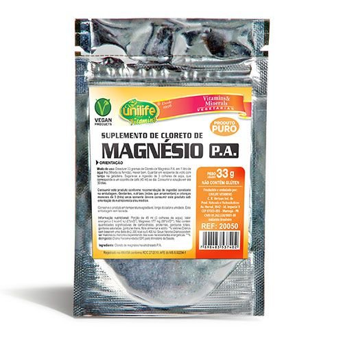 Cloreto de Magnésio PA - 33g