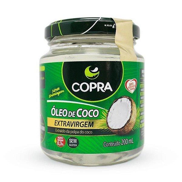 Óleo de Coco Extra virgem - COPRA - 200 mL