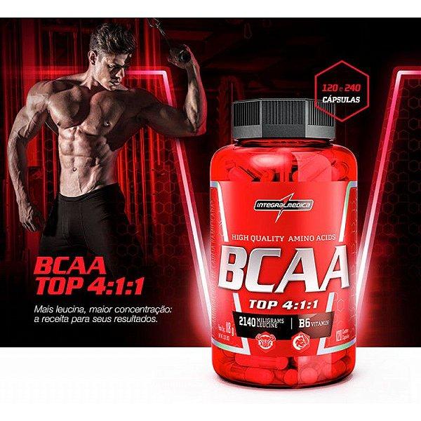 b9184af7a Bcaa Top 4.1.1 120 Caps - Integral Medica - http ...
