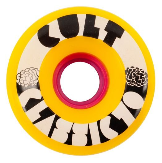Roda Cult Wheels Classic 70mm 80A - Amarela 2016