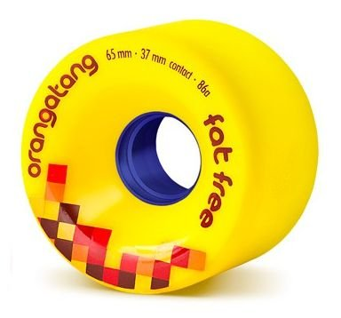 Roda Orangatang Fat Free 65mm 86a