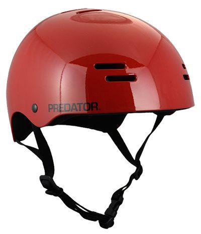 Capacete Predator Sk8 Gloss Red