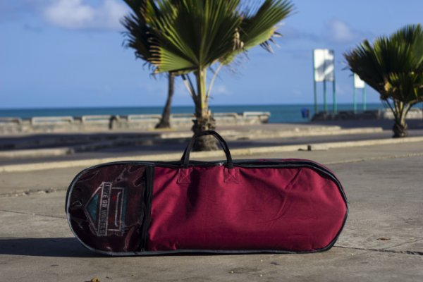 Skate Bag Mochila para longboard Love On Wheels