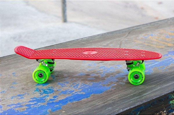 "Skate Mini Cruiser Creme 23"""