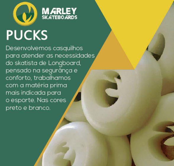 Casquilhos Marley Pucks 15mm