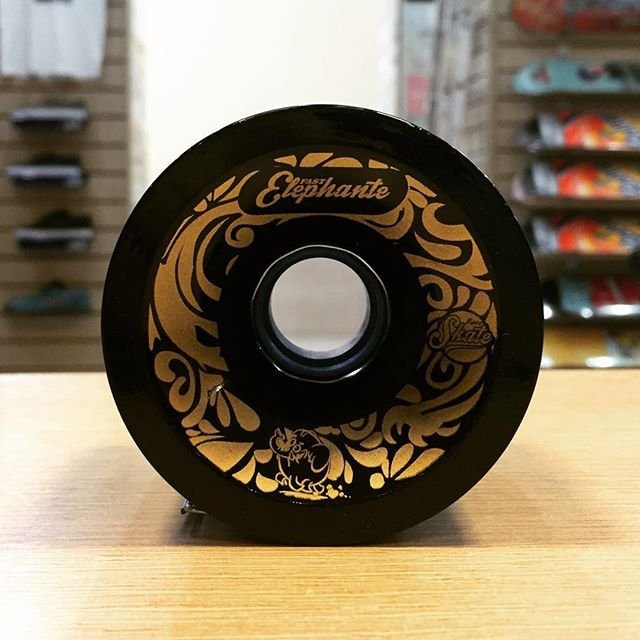 Roda Face Fast Elephante Black 72mm 85A