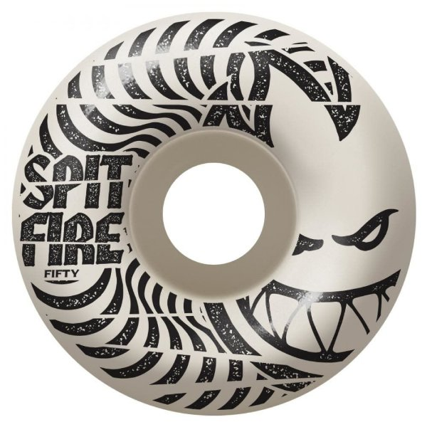 Roda Spit Fire Low Downs 99D - White 52mm/54mm