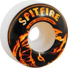 Roda Spit Fire Infernos White - 51mm/53mm