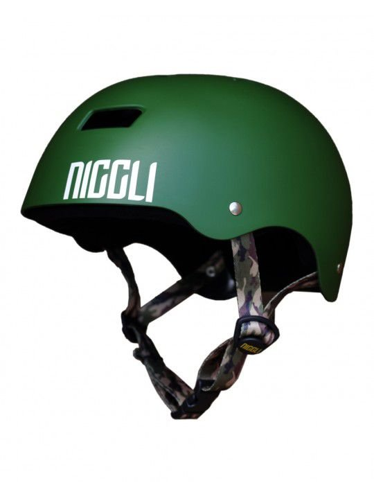 Capacete Niggli IRON Profissional Verde Fosco