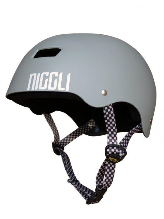 Capacete Niggli IRON Profissional cinza Fosco