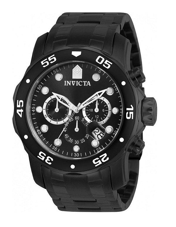 3b5a9e2ac9c Relógio Invicta 0076 Pro Diver Preto Fundo Preto - Original ...