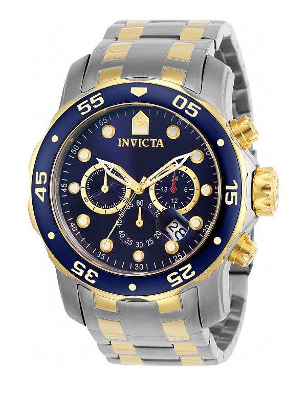 e5bfe72a64d Relógio Invicta 0077 Pro Diver Misto Fundo Azul - Original - Watches ...