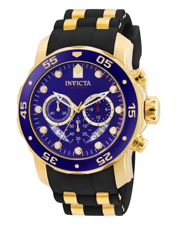 4dd31b9aeed Relógio Invicta 6983 Pro Diver Dourado   Azul - Invicta - Watches ...