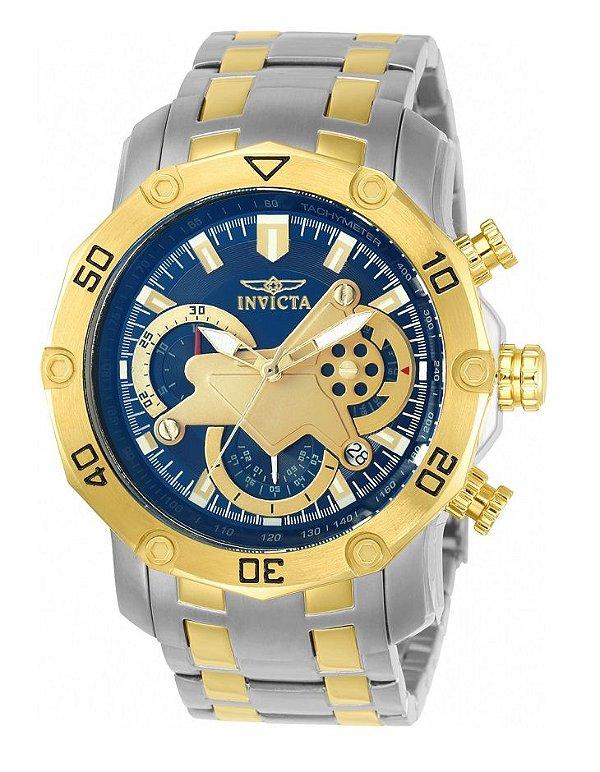 ab02aedb060 Relógio Invicta 22762 Pro Diver Azul   Prata Misto - Invicta ...