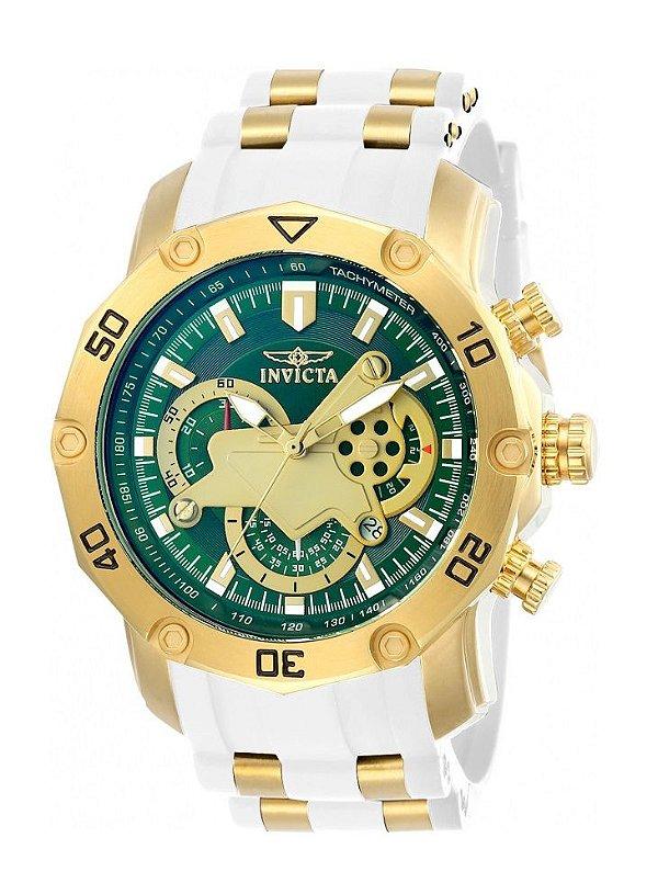 b9d90ed7f0e Relógio Invicta 23422 Pro Diver Verde   Branco - Invicta - Watches ...