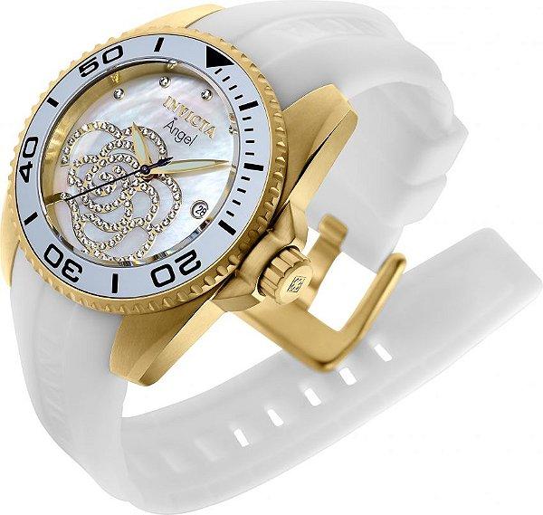 f3dc917e883 Relógio Invicta Feminino 0488 Angel Dourado 18K - Invicta - Watches ...