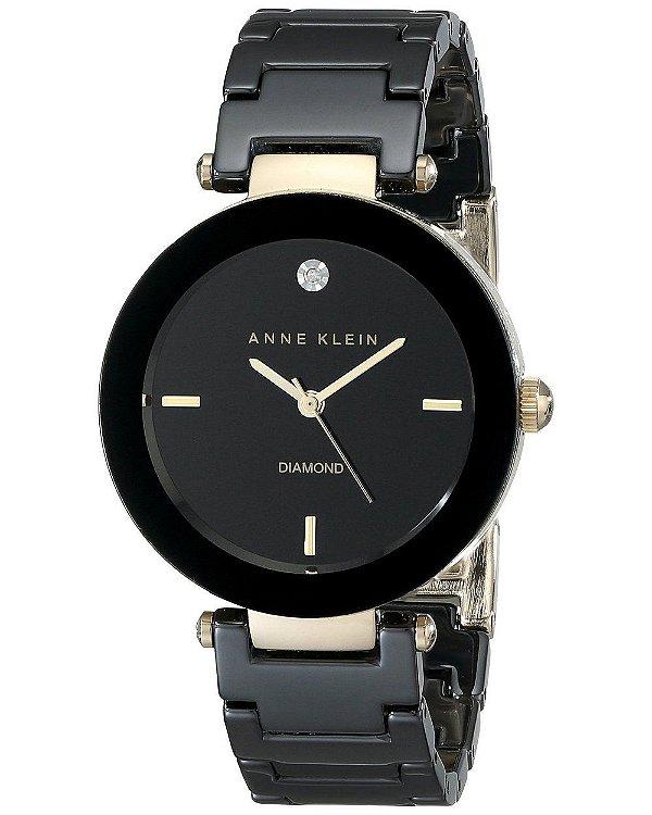 6177cf23ec1 Relógio Anne Klein Ak1018 Preto   Dourado - Anne Klein - Watches ...