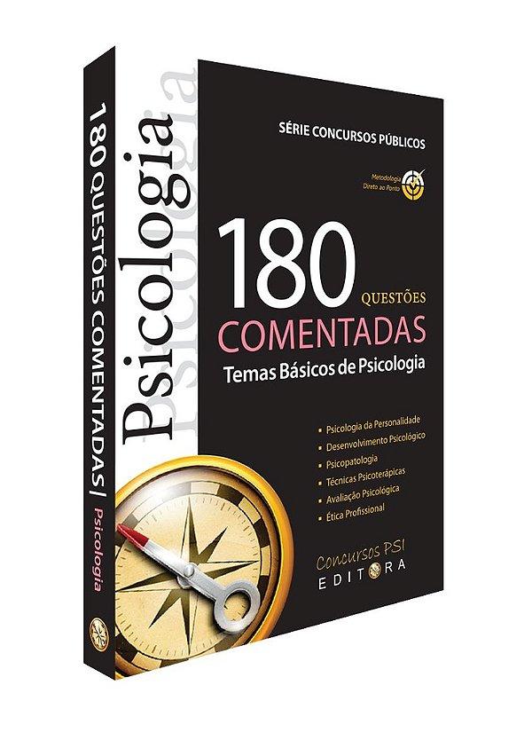 Livro 180 Questões| Temas Básicos de Psicologia