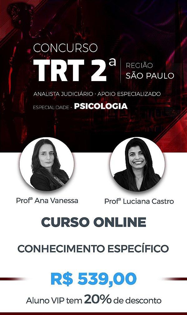 CURSO ONLINE ESPECÍFICO: TRT 2º REG./SP 2018