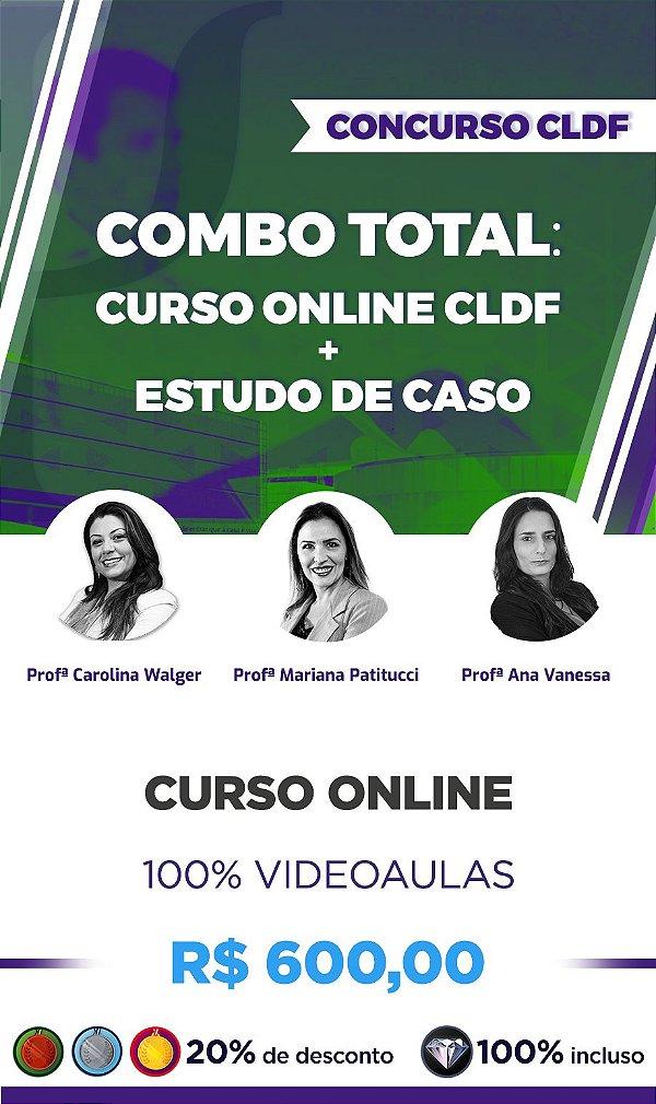COMBO TOTAL CLDF - Curso Online: Conh. Esp. Psicólogo Clínico Perito + Estudo de Caso