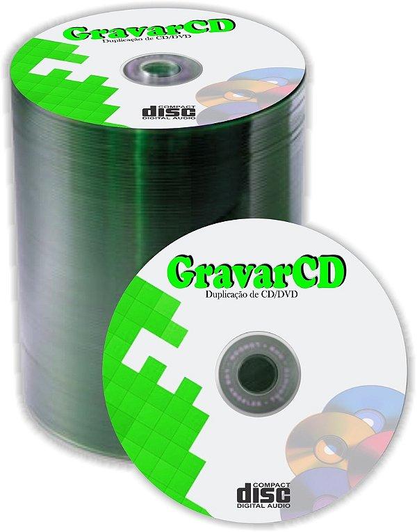 1000 Cópias de Cd com silk screen