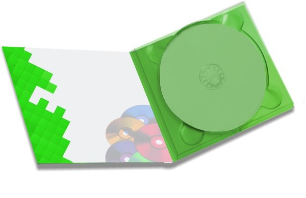 1000 Envelopes Digipack 2 paineis