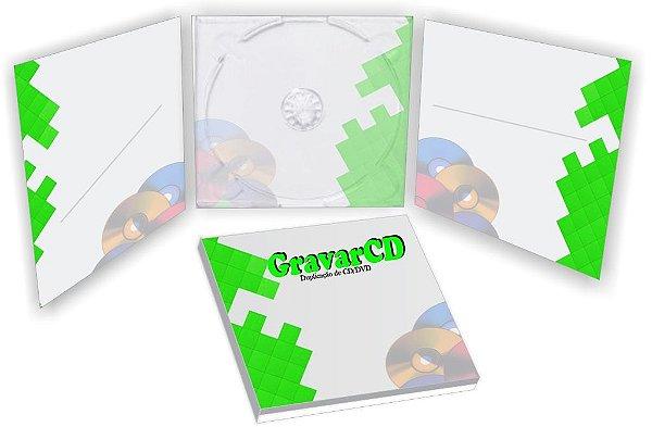 1000 Envelope Digipack 3 paineis
