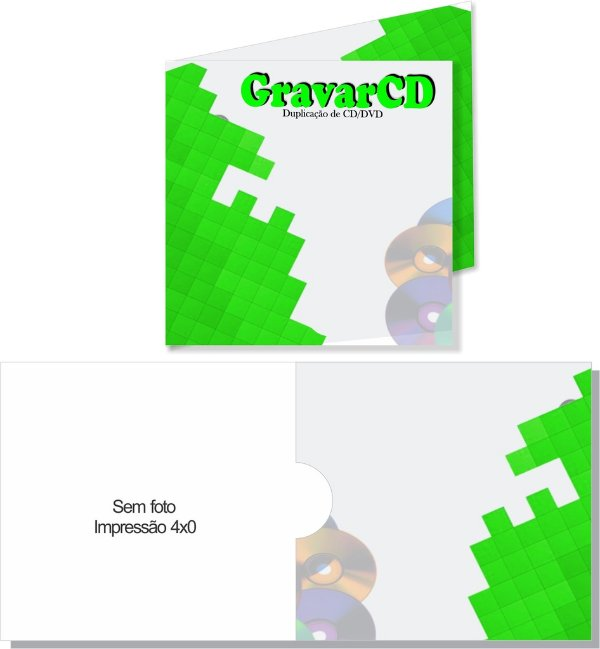 1000 Envelope 12x12 + 1 ABA Impressão 4X0