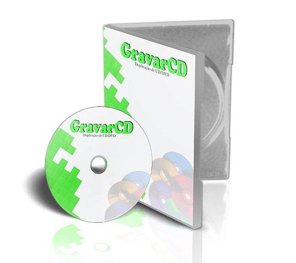 1000 Copias de Dvd´s com box e capa impressão 4x0