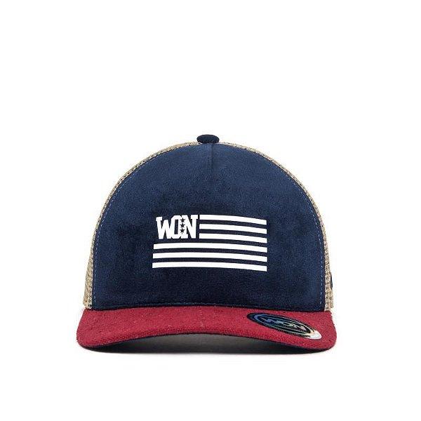 Boné American - Aba Curva | Use WON