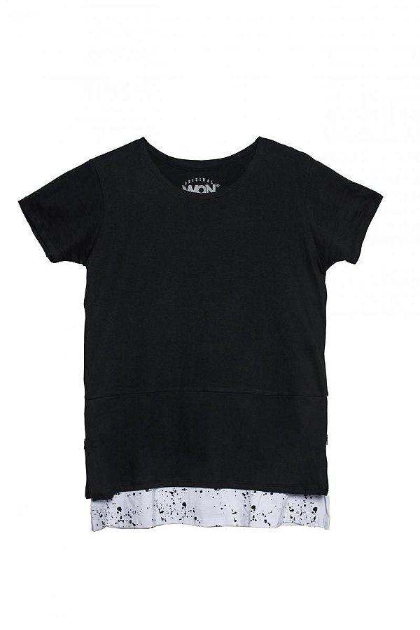 Camiseta Long Zíper  |USE WON