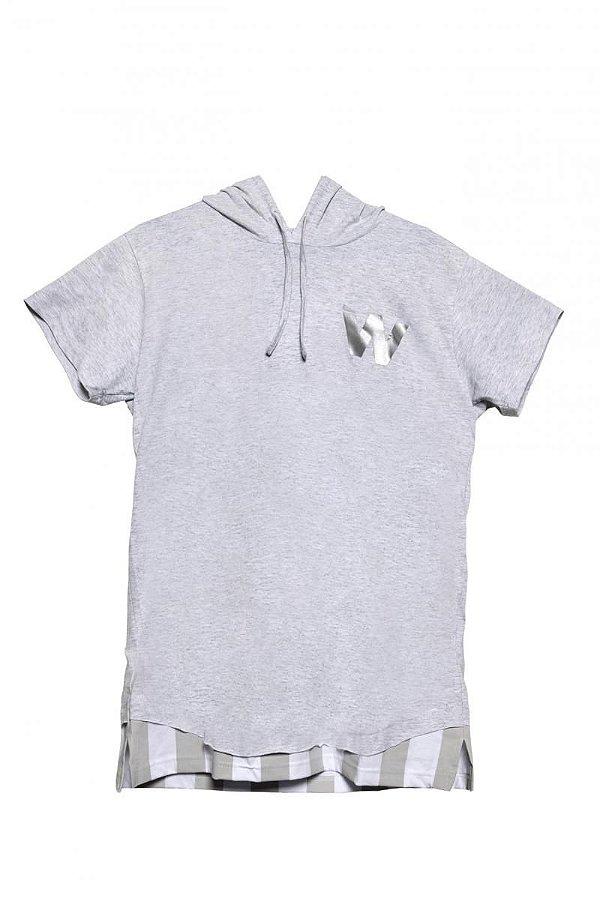 Camiseta Won Mescla Capuz