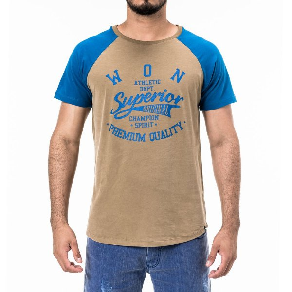 Camiseta Won Raglan Superior