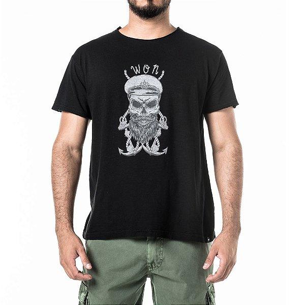 Camiseta Won Skull Mariner