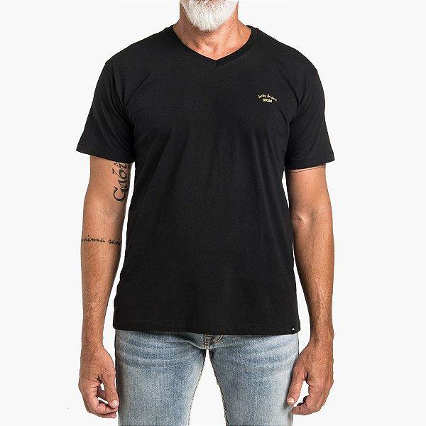 Camiseta Won Básica Preta Santos Harbour